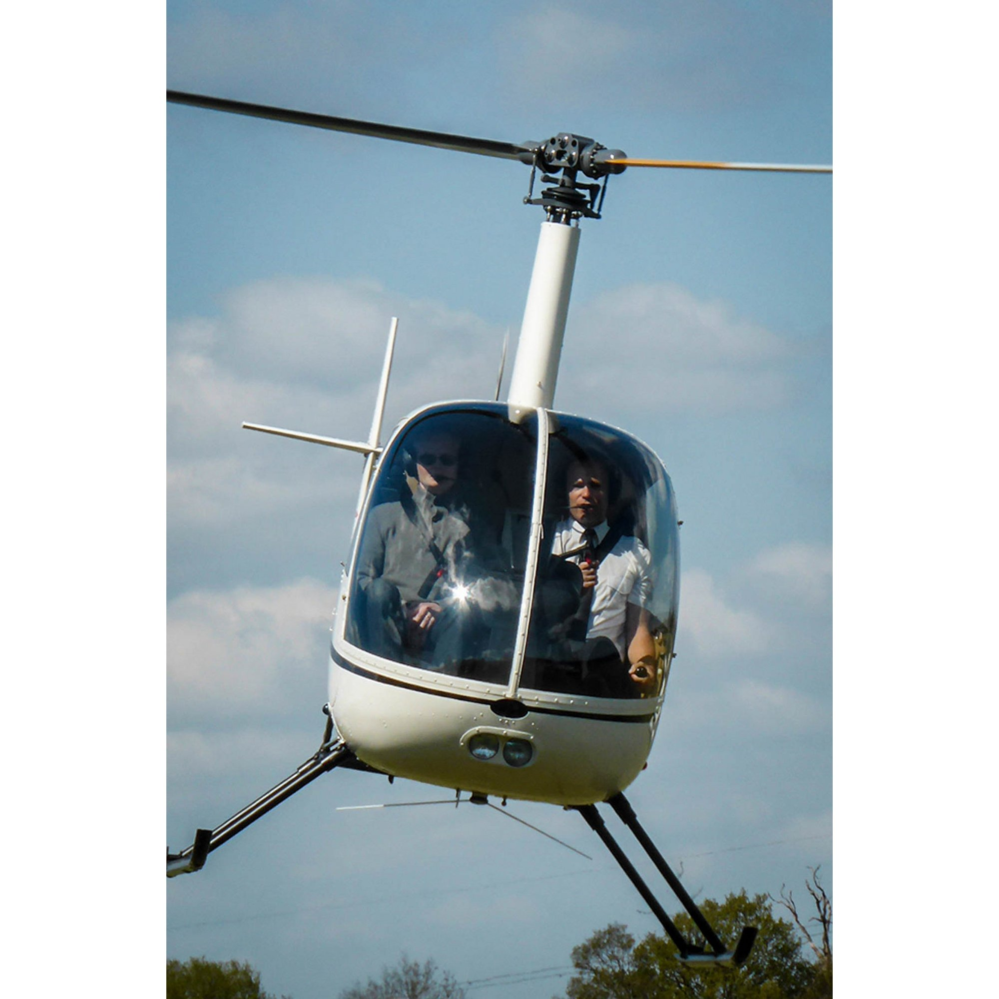 Image of 1-to-1 Helicopter Flying Lesson