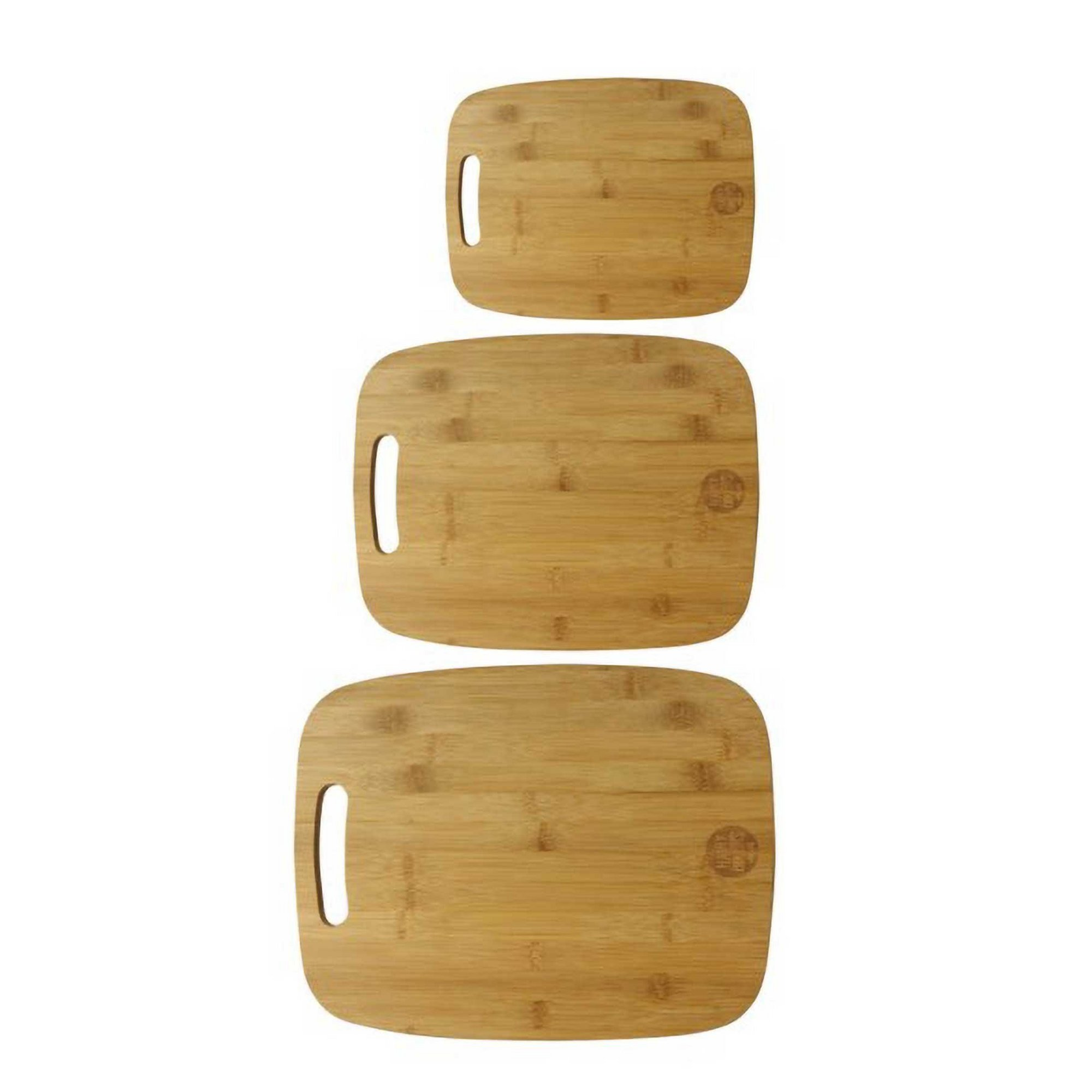 Image of Hairy Bikers Set of Three Bamboo Chopping Boards