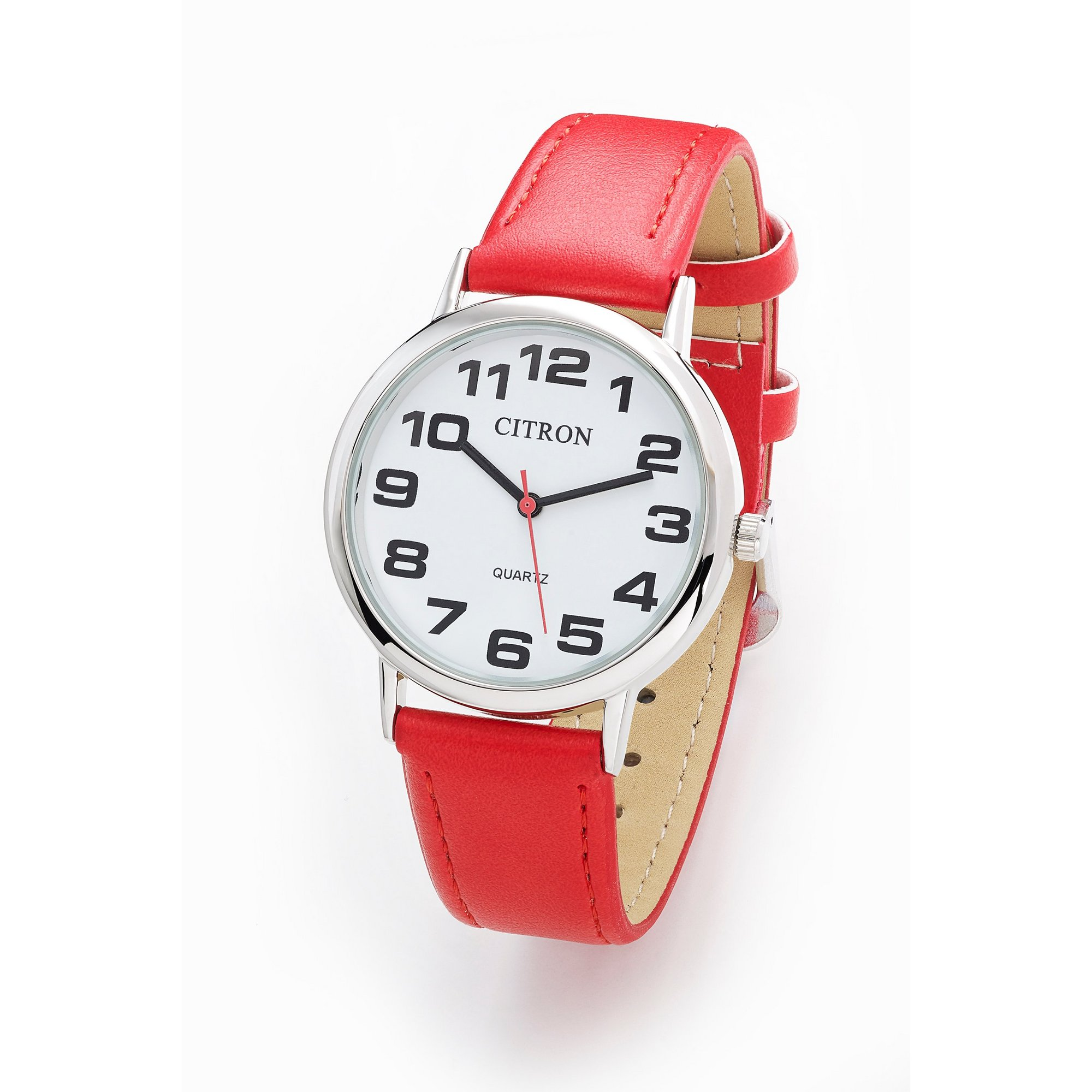 Image of Citron Red Strap Watch