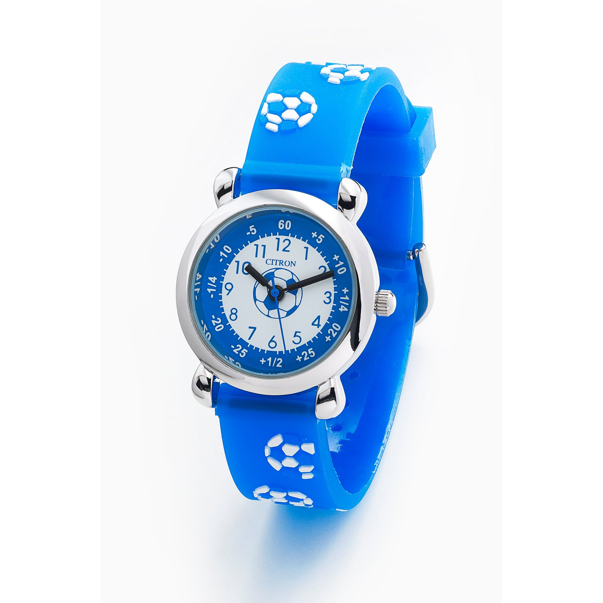 Image of Citron Football Blue Strap Watch