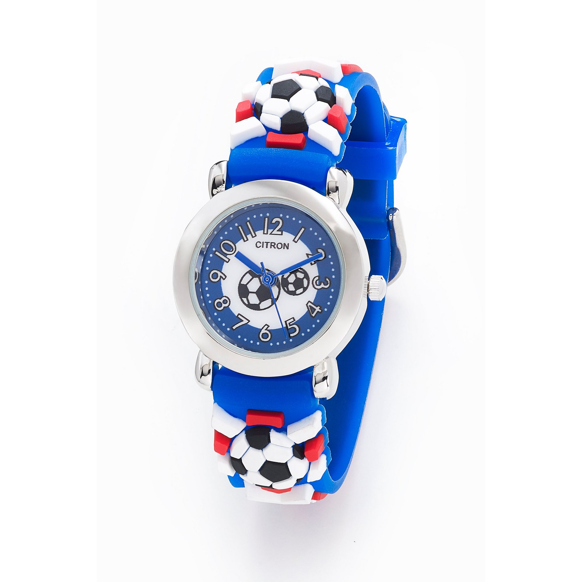 Image of Citron Football Strap Watch