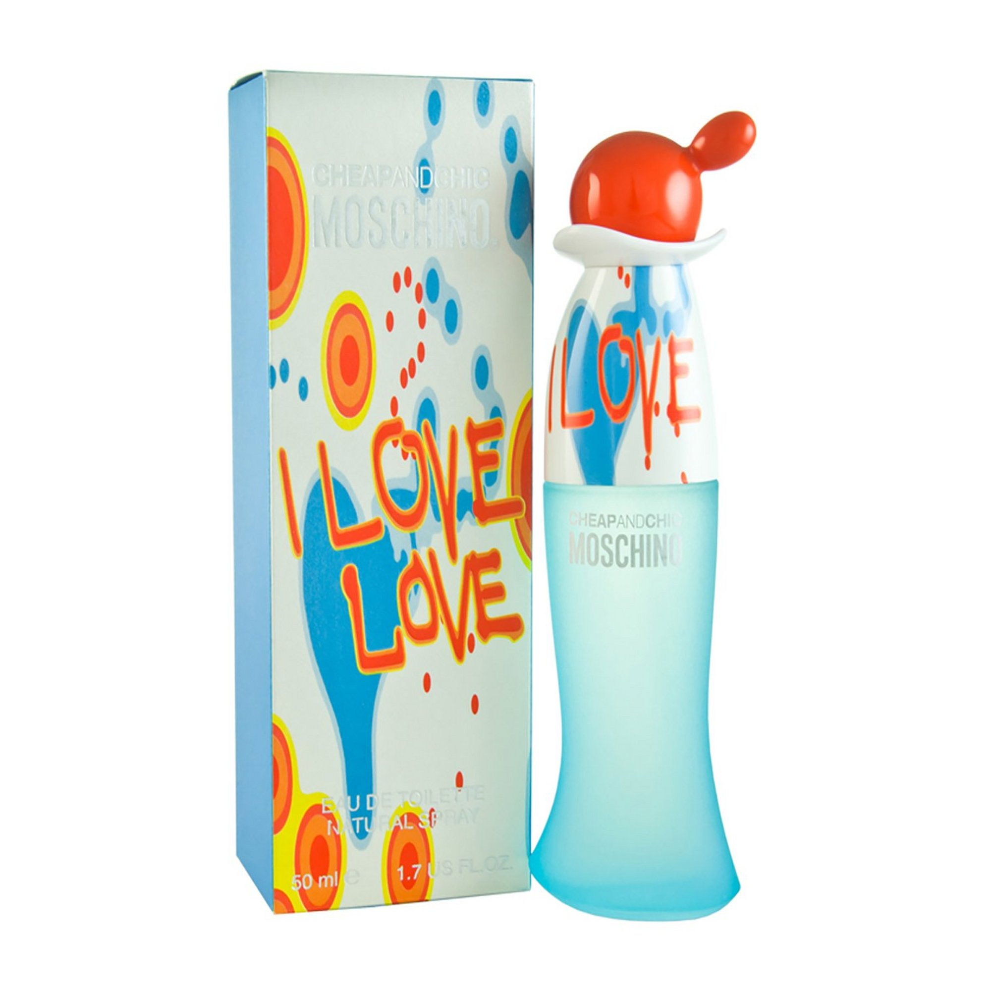 Image of Moschino Cheap and Chic I Love Love 50ml EDT
