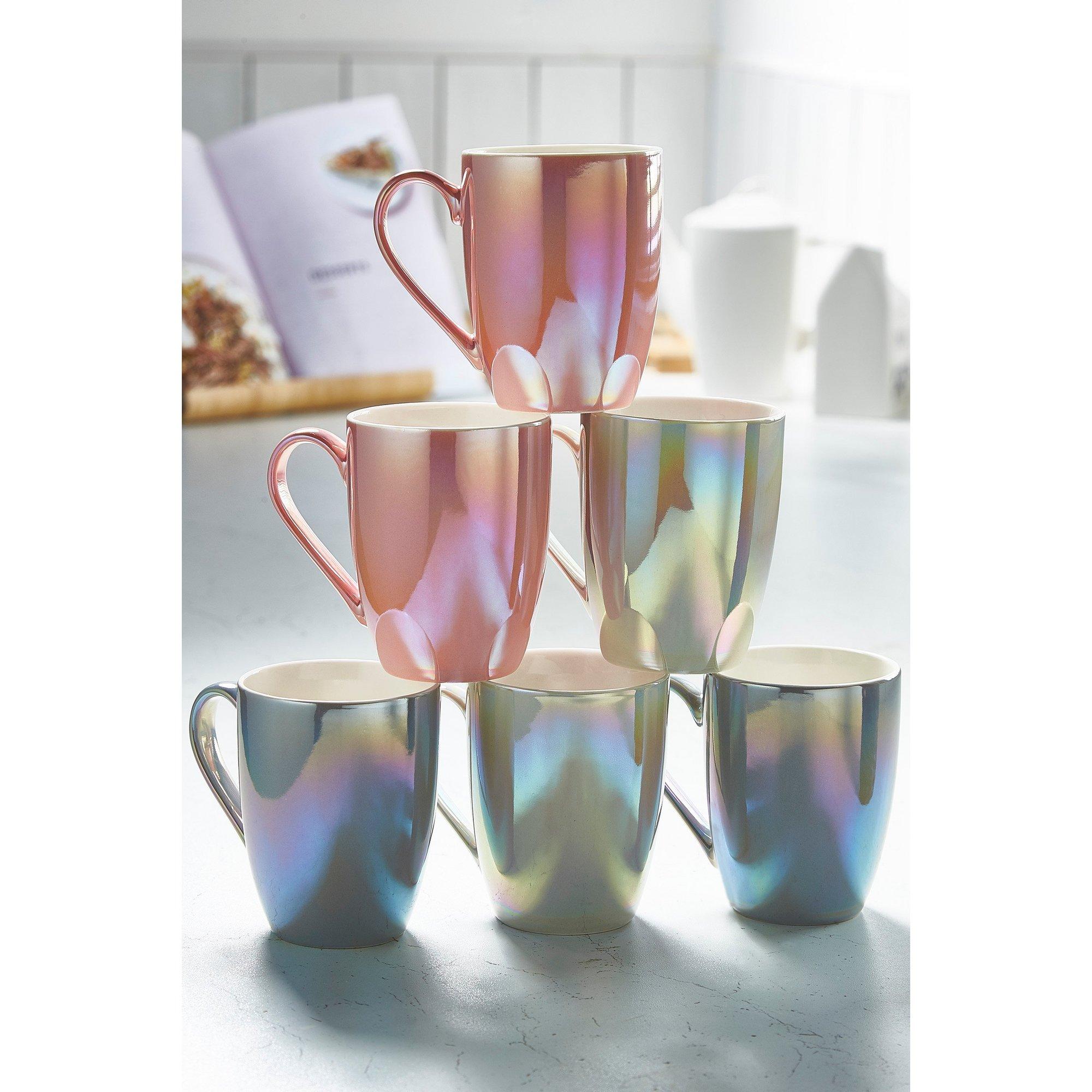 Image of 6-Piece Pearlescent Mug Set