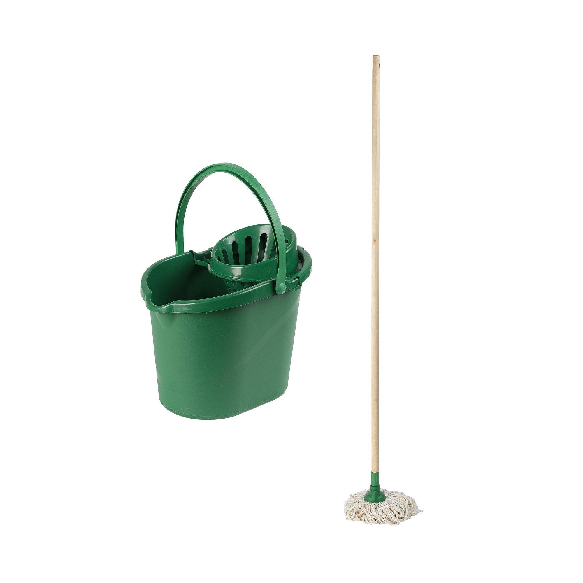 Image of 2 Piece Beldray Eco Mop and Bucket Set