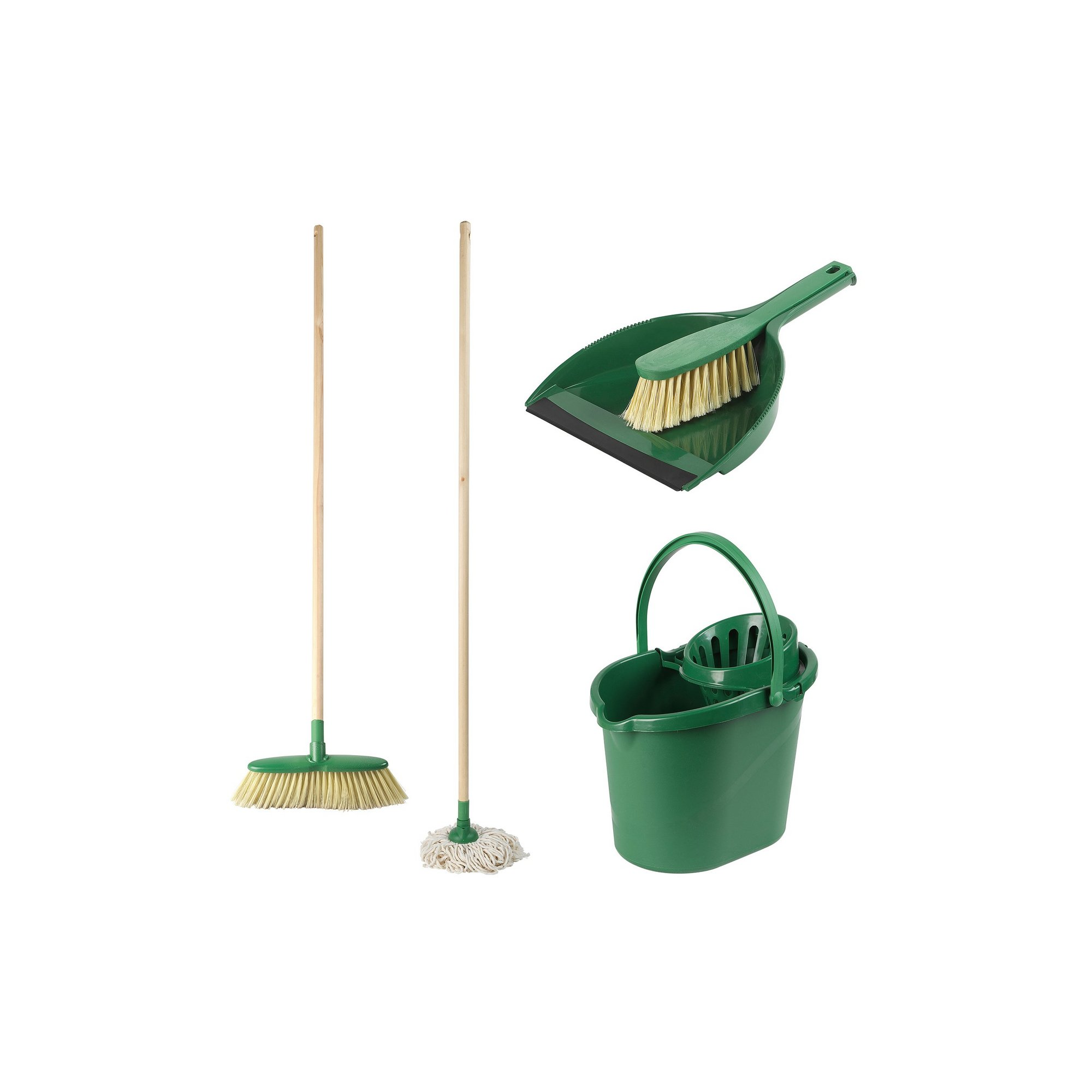 Image of 5 Piece Beldray Eco Household Cleaning Combo Set