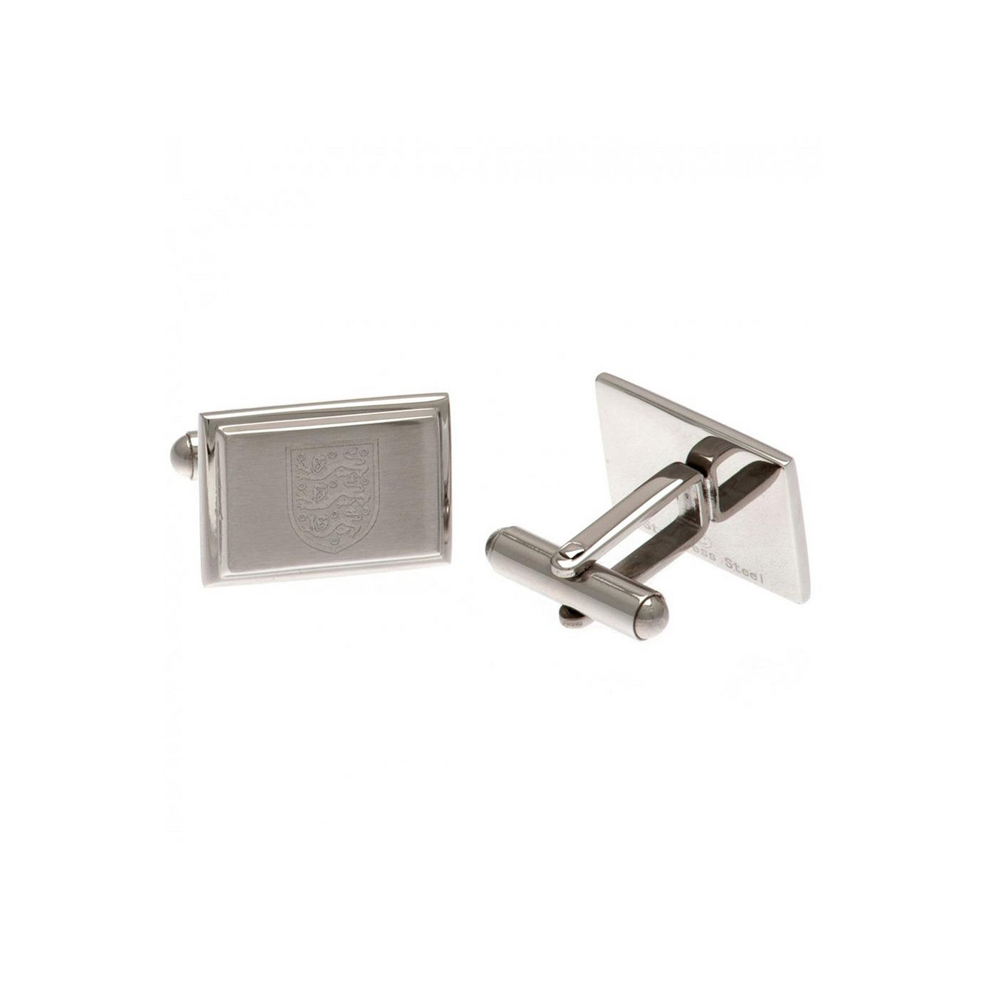Image of England FC Stainless Steel Crest Cufflinks