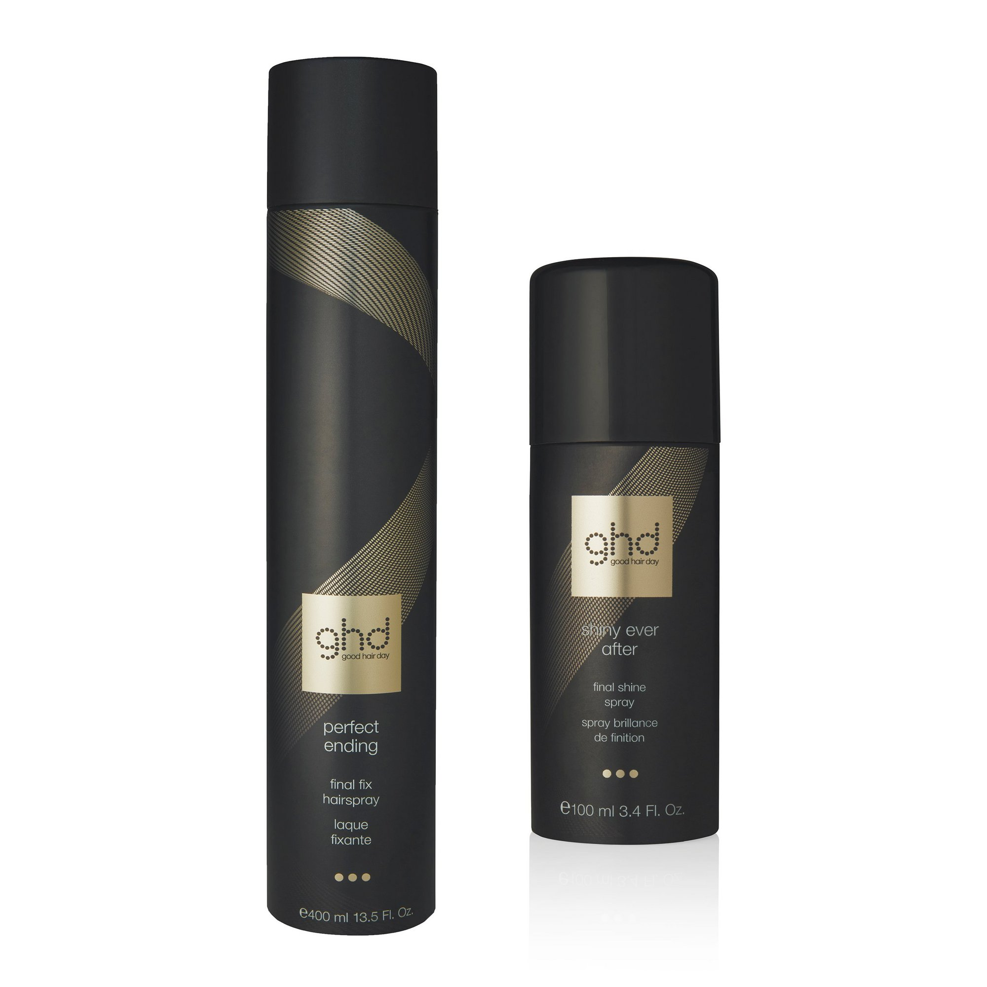 Image of ghd Final Fix and Shine Spray Set