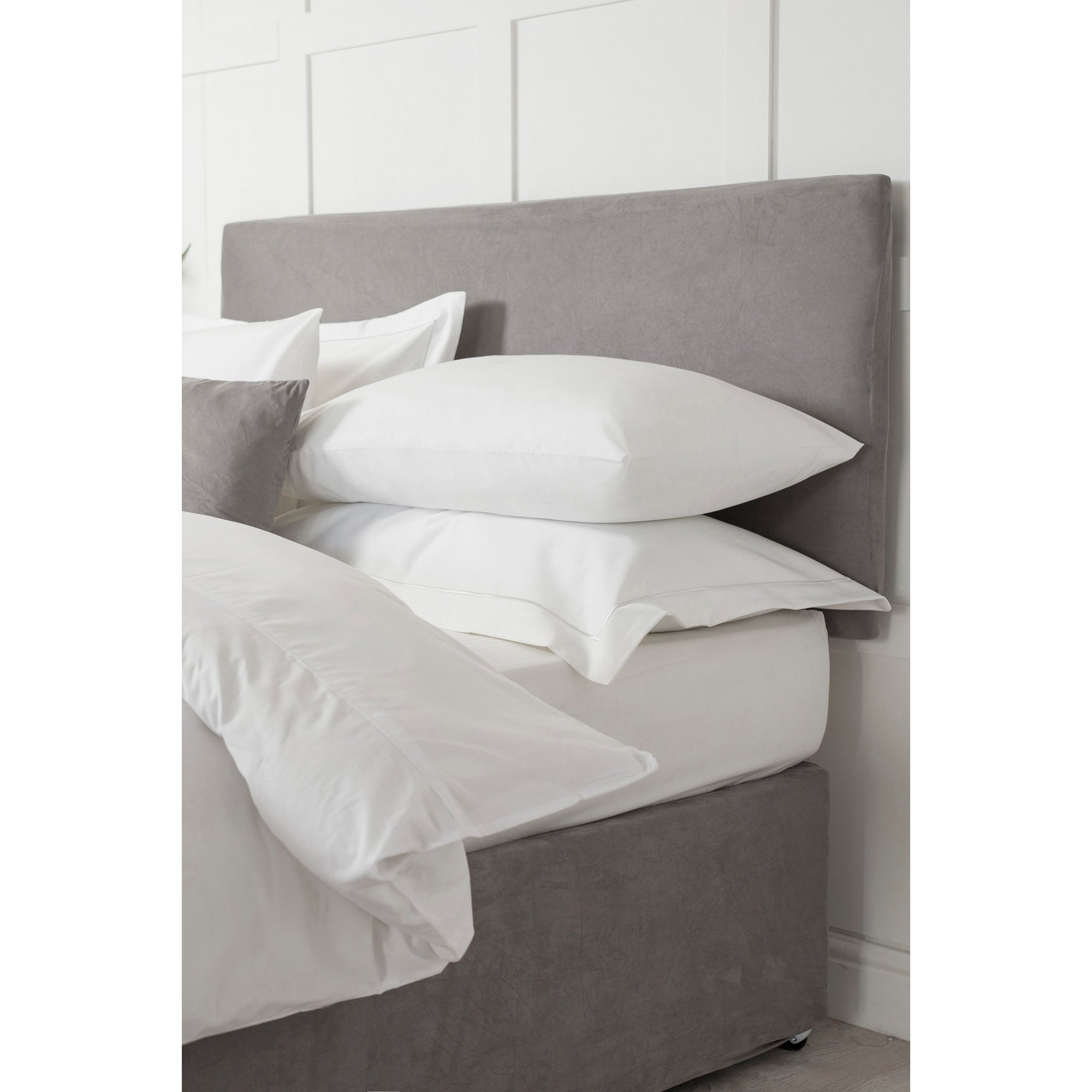 Image of Faux Suede Headboard Wrap