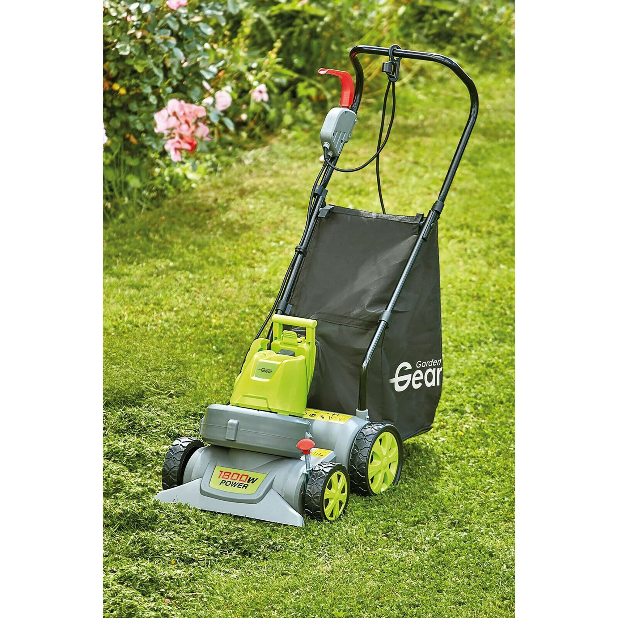 Image of 1800w 3 in 1 Garden Push Vac and Blower