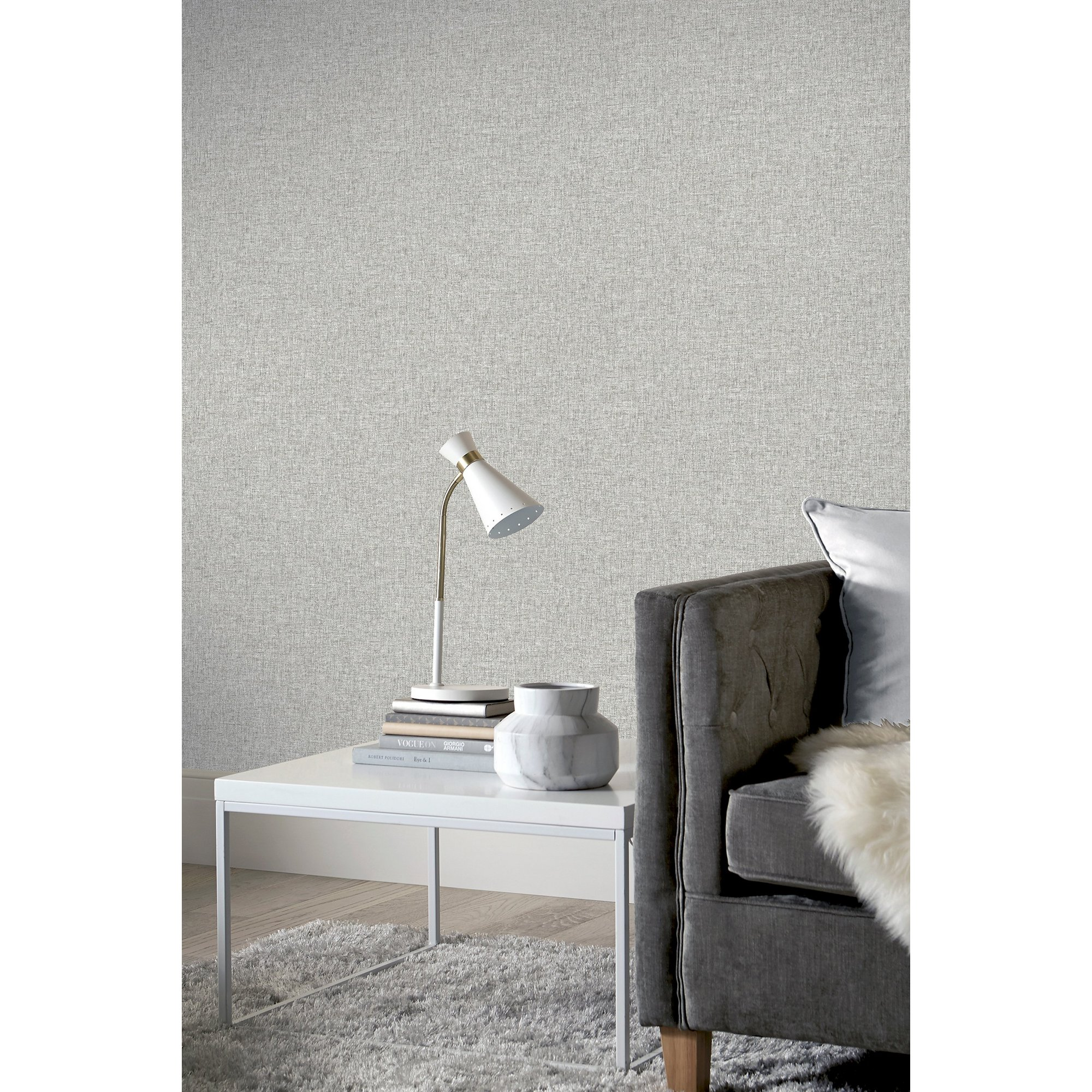 Image of Arthouse Artistick Peel and Stick Wallpaper - Linen Texture