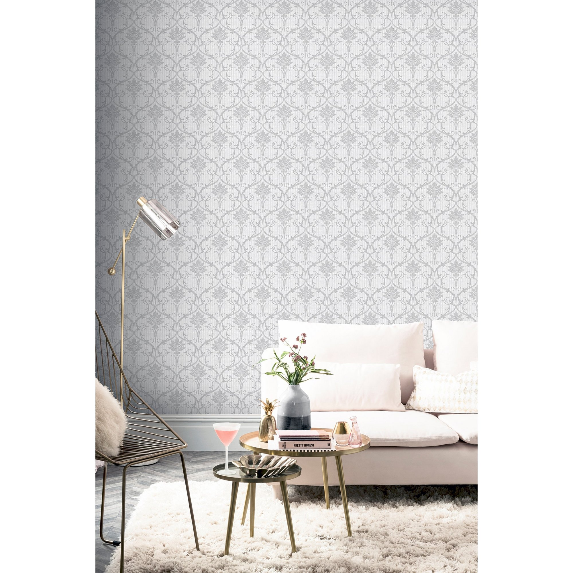 Image of Arthouse Artistick Peel and Stick Wallpaper - Divine Damask