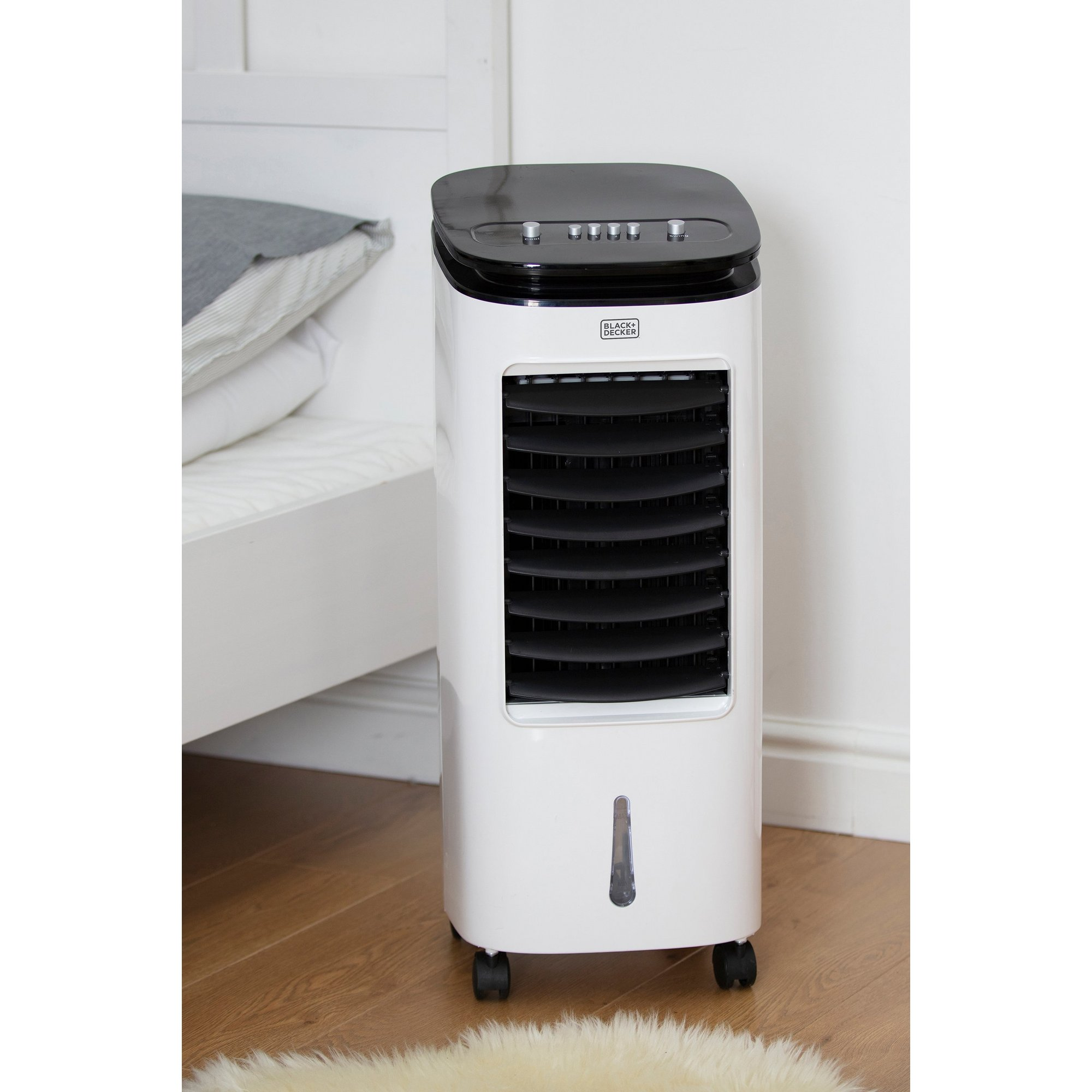Image of Black and Decker 7 Litre 2-in-1 Air Cooler