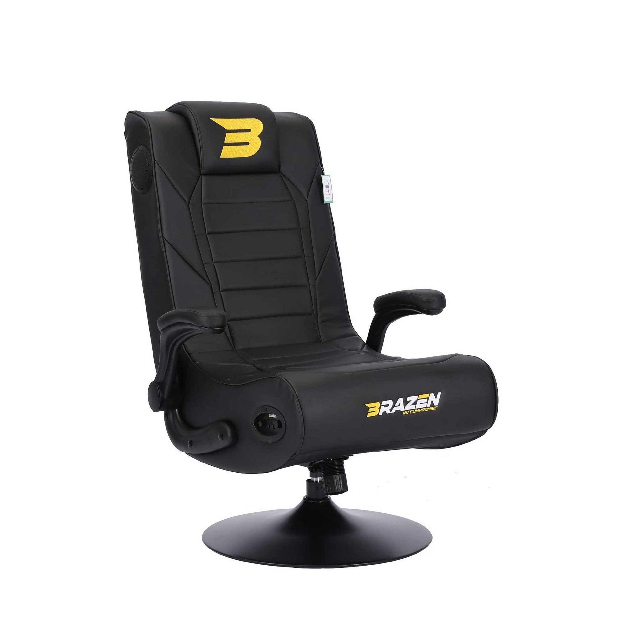 Image of BraZen Serpent 2.1 Bluetooth Surround Sound Gaming Chair