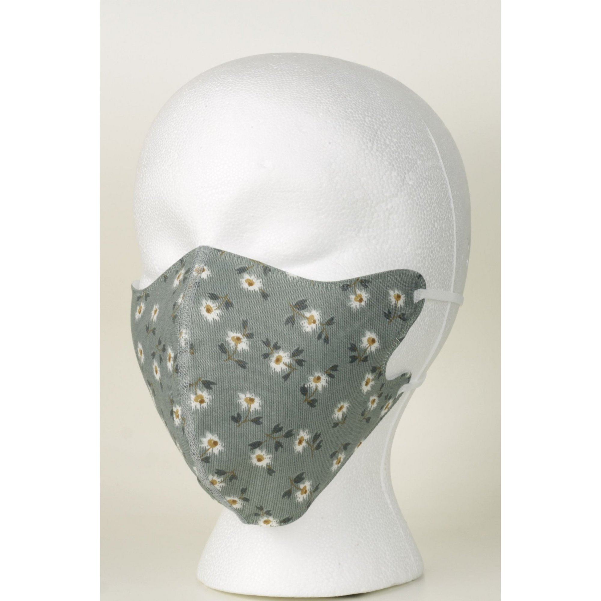 Image of Adult Daisy Flowers Print Reusable Face Mask