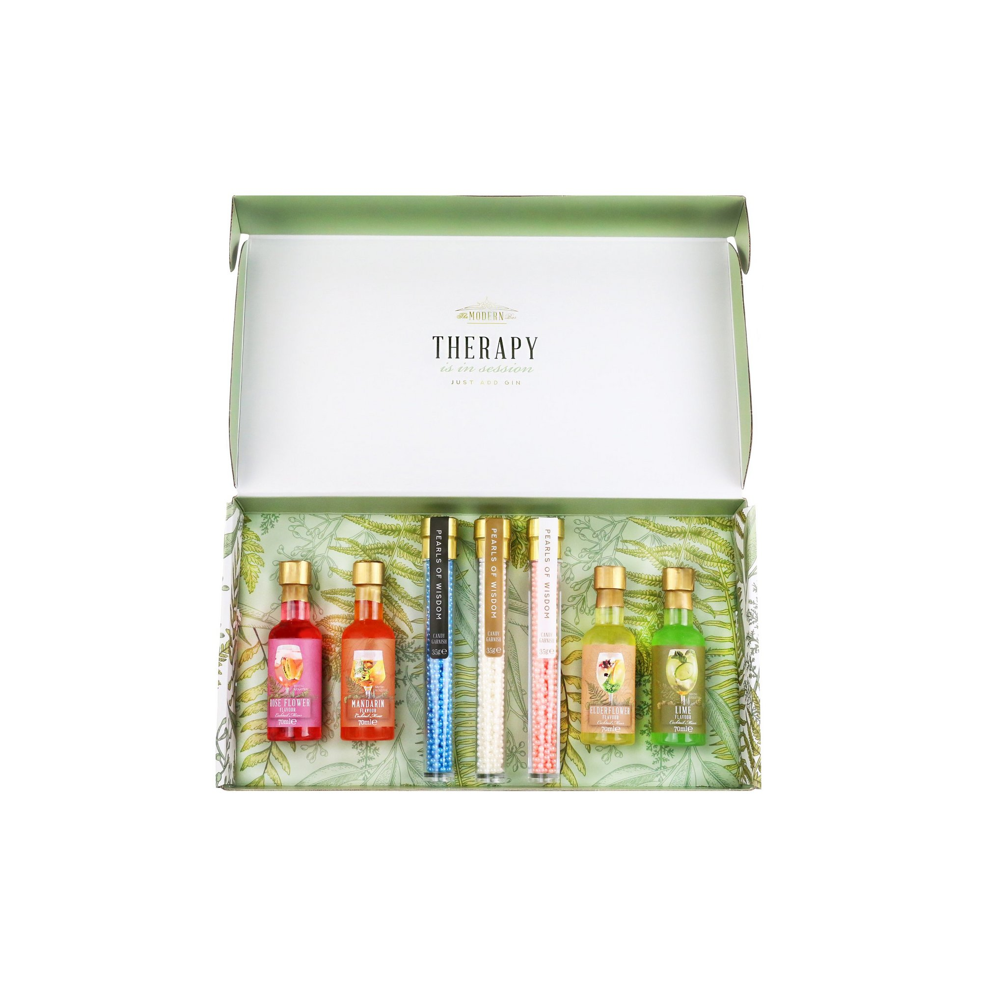 Image of Gin Therapy Kit Cocktail Syrups and Pearls