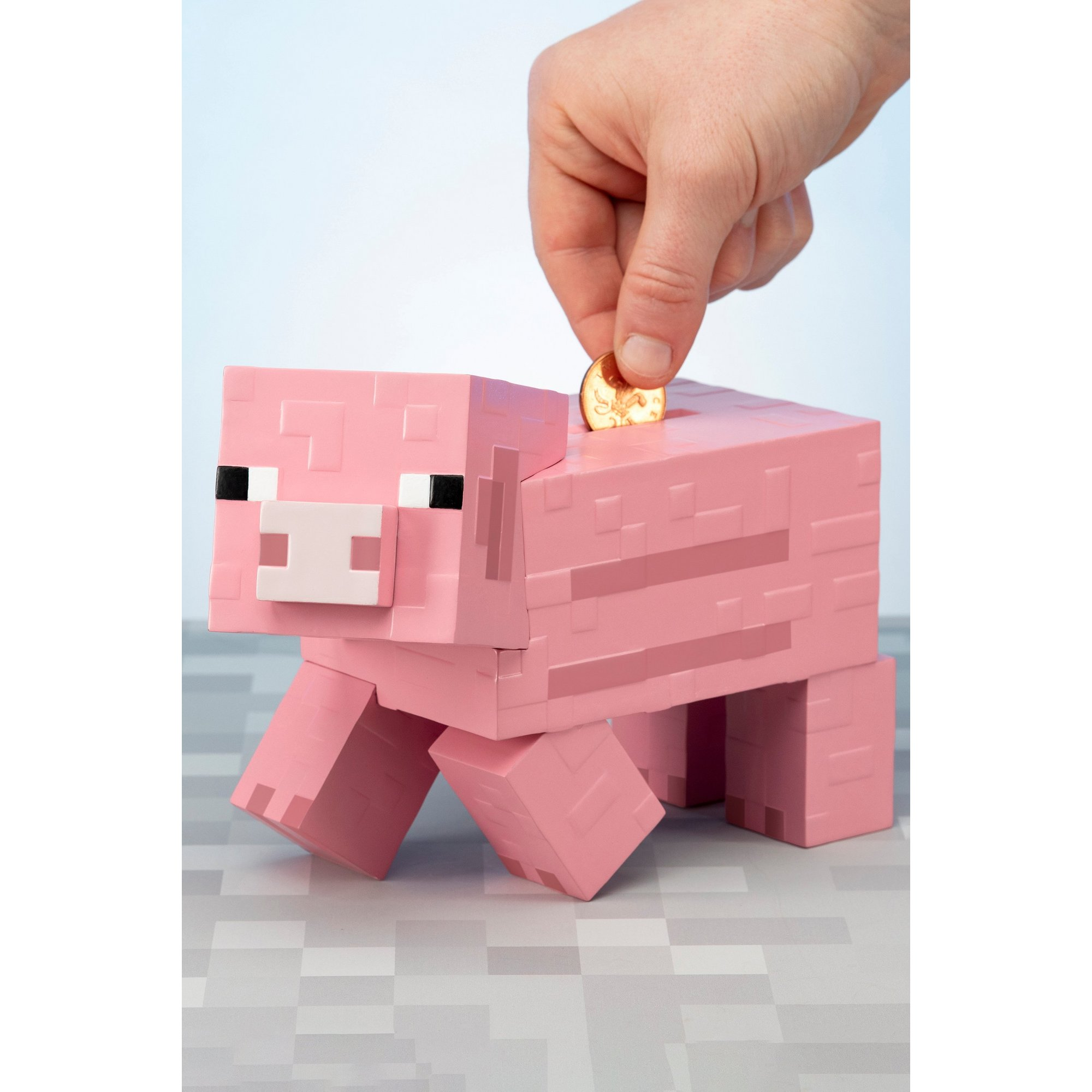 Image of Minecraft Pig Money Bank