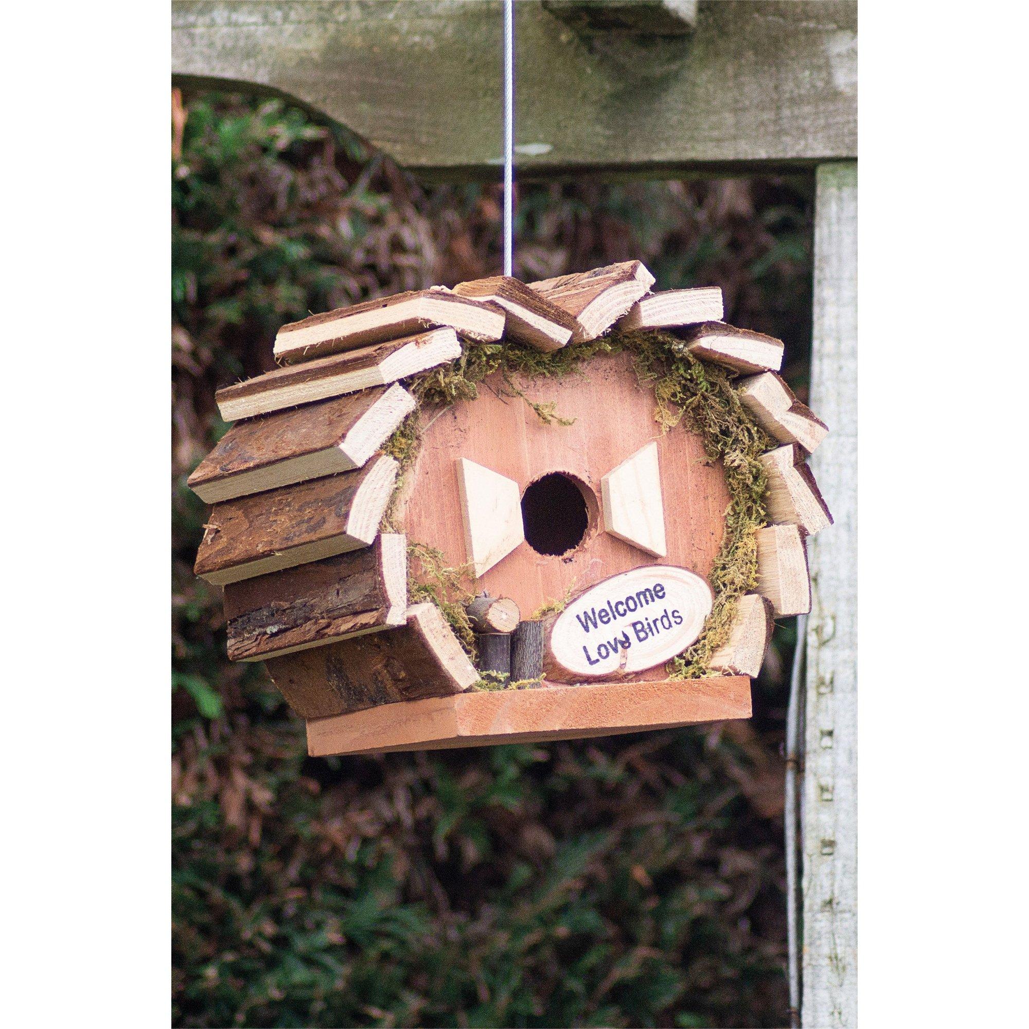 Image of Garden Handmade Nesting Bird House