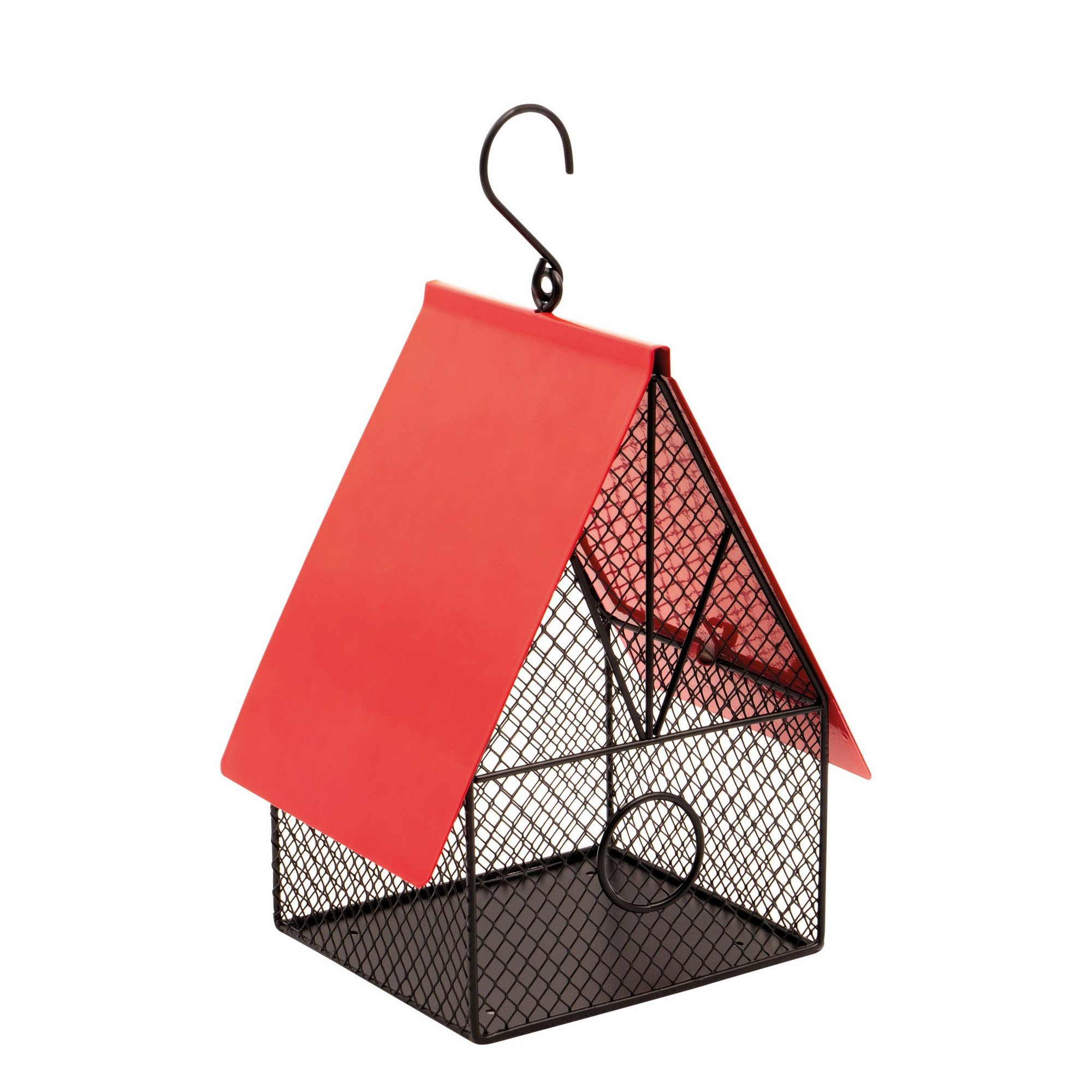 Image of Garden House Style Bird Feeder for Nuts