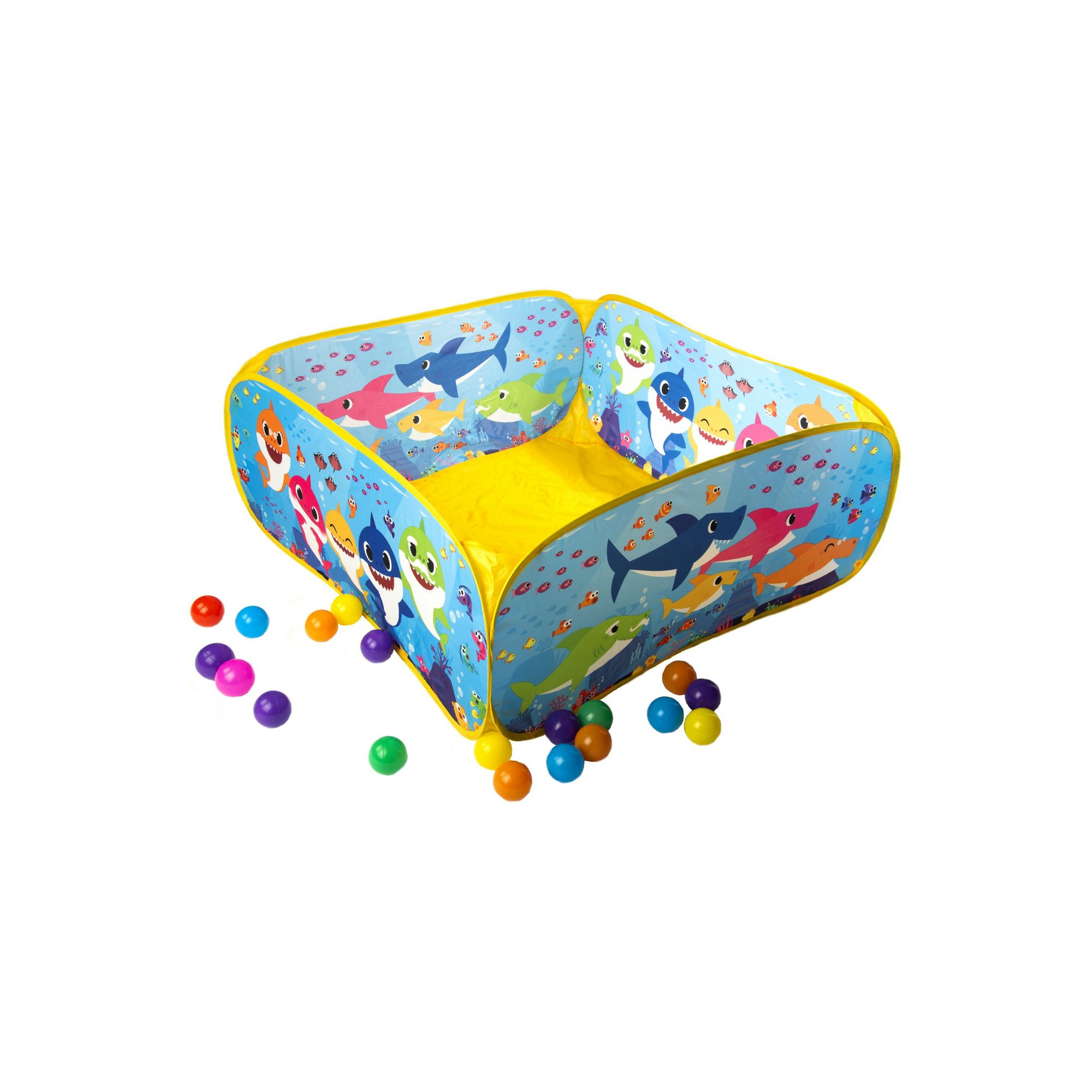 Image of Baby Shark Ball Pit with 20 Balls