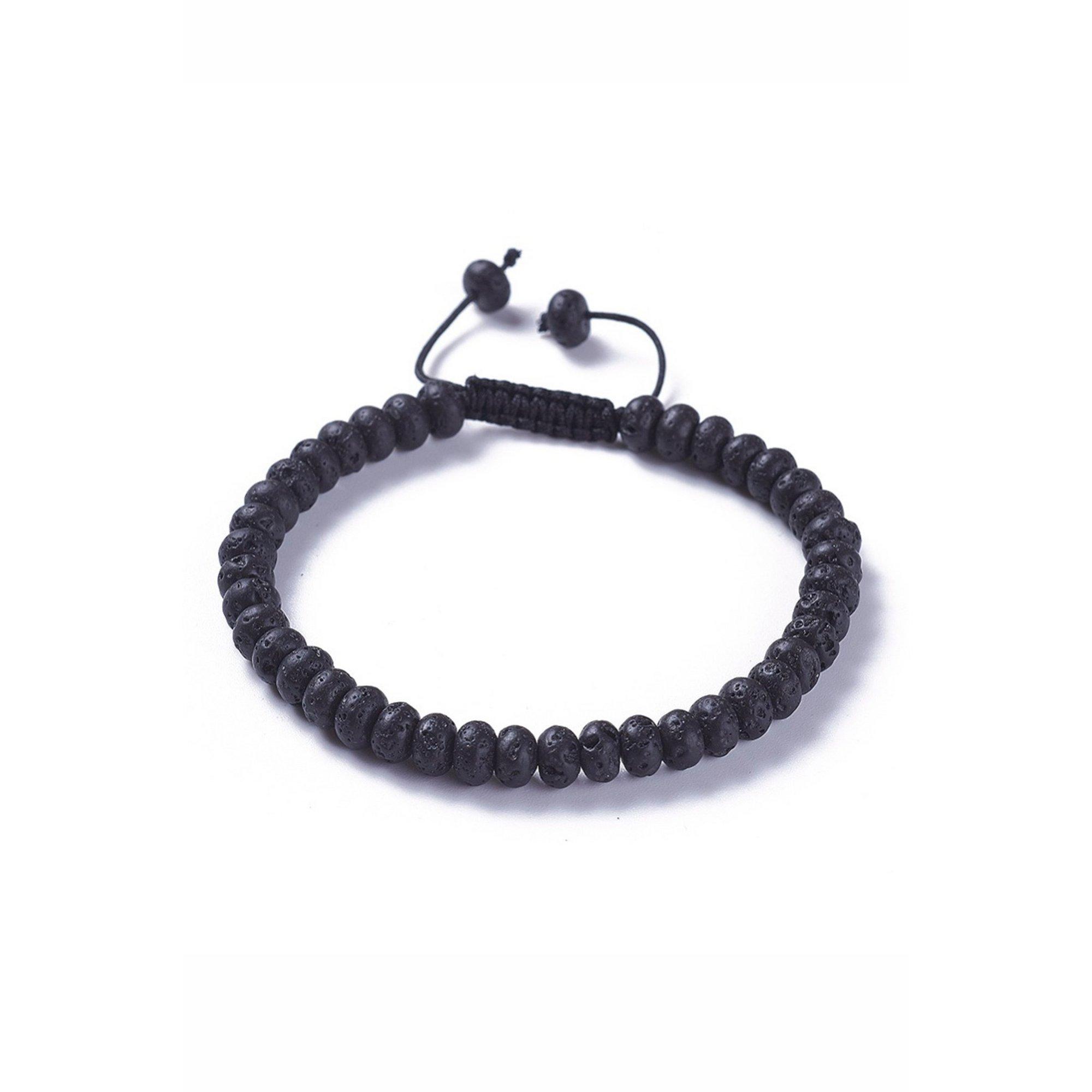 Image of Black Lava Bead Bracelet