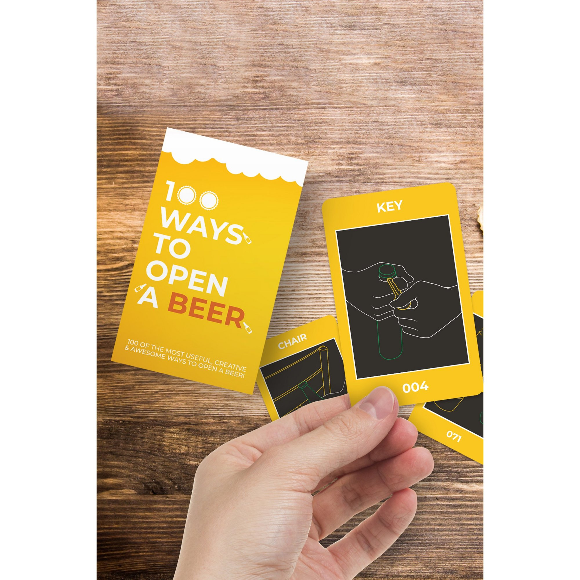 Image of 100 Ways To Open a Beer Cards