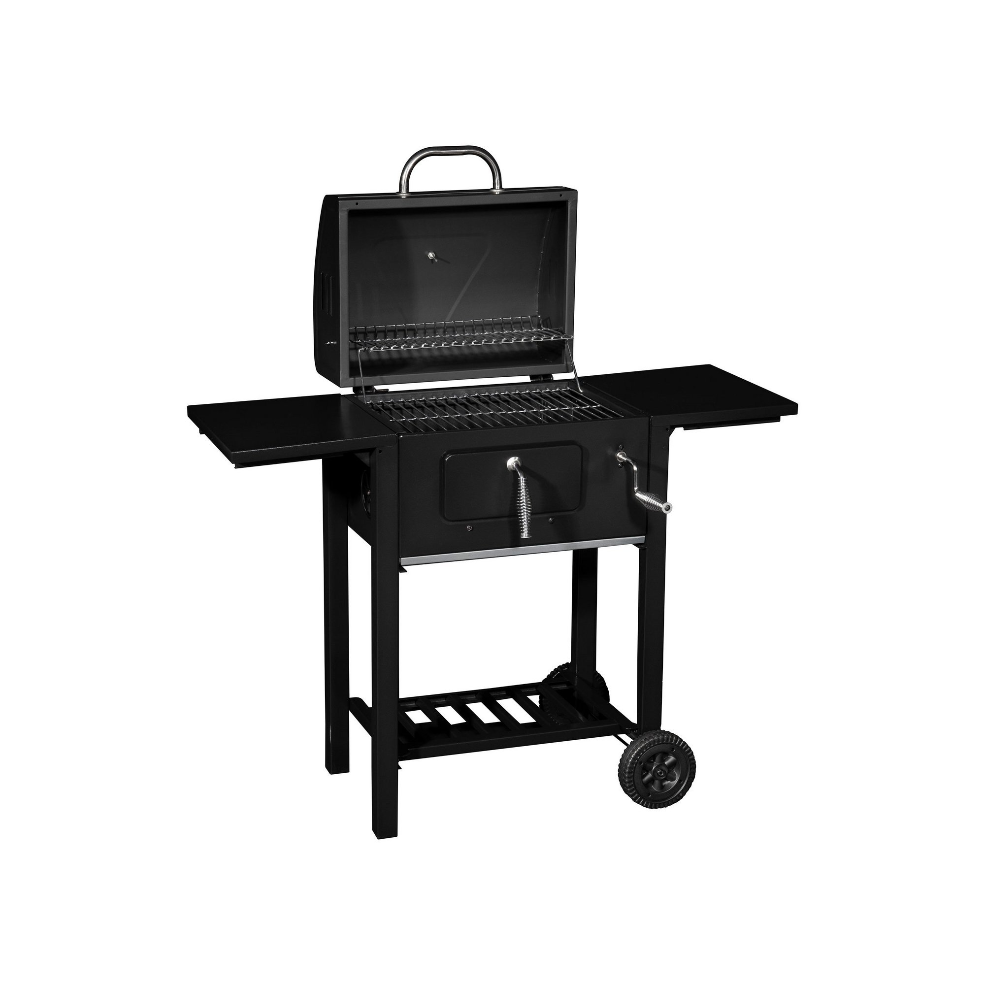 Image of Hairy Bikers Charcoal Trolley Grill BBQ