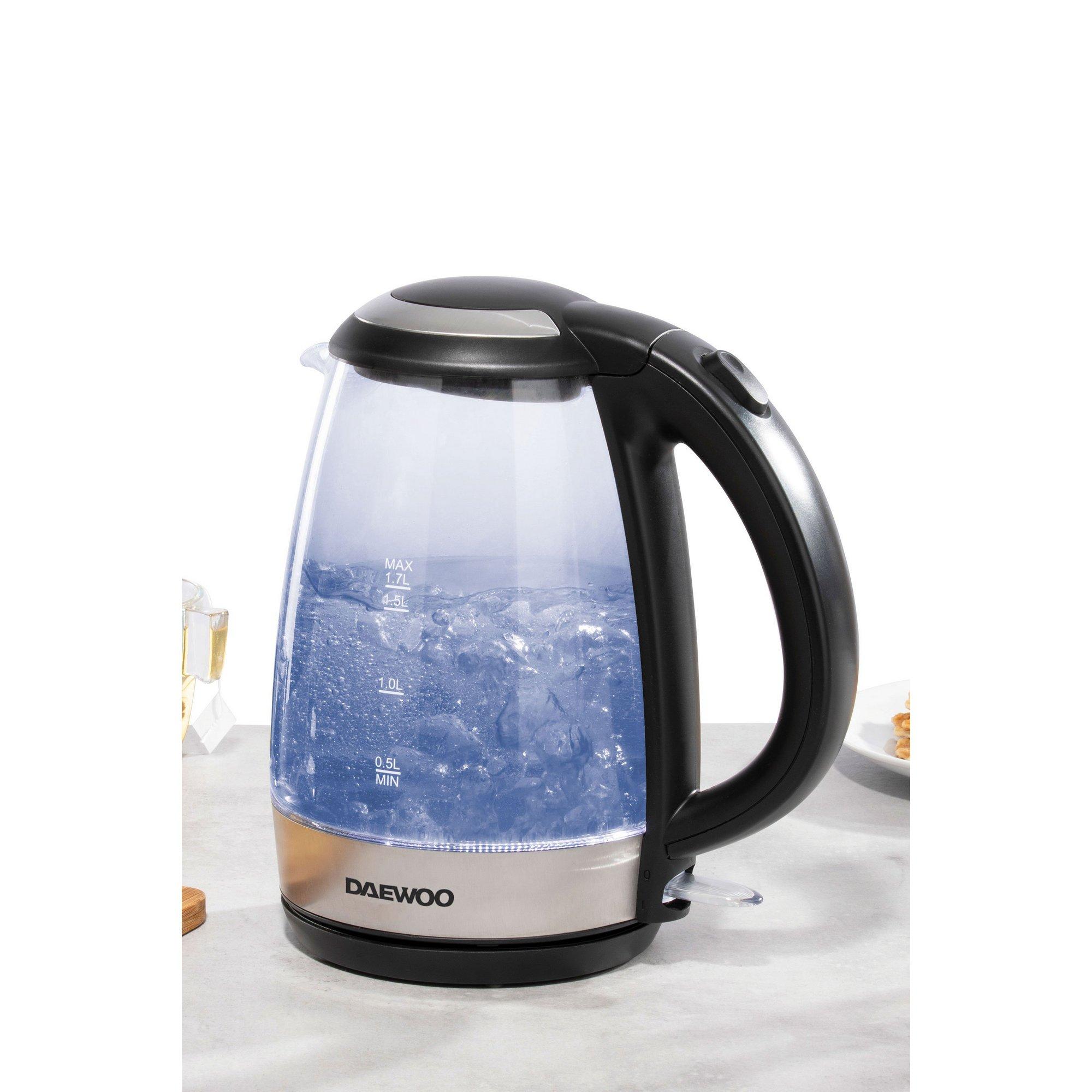 Image of Daewoo 1.7L 2200W Glass Kettle