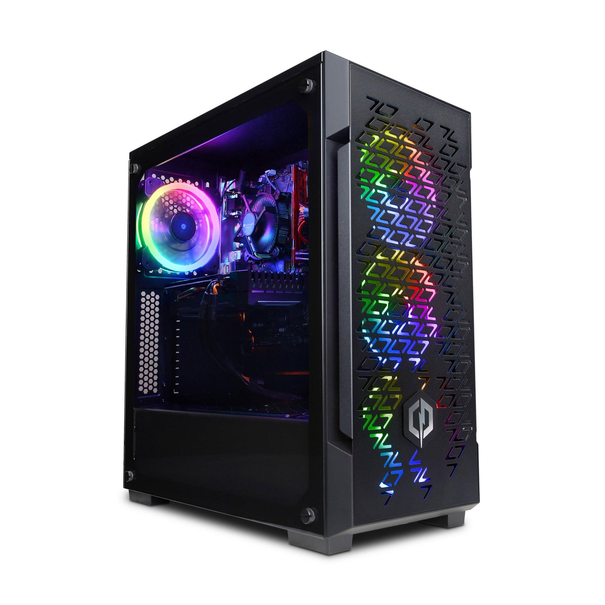Image of Cyberpower AMD Ryzen 5 3600 GTX 1650 8GB RAM 1TB HDD 240GB SSD Ga...
