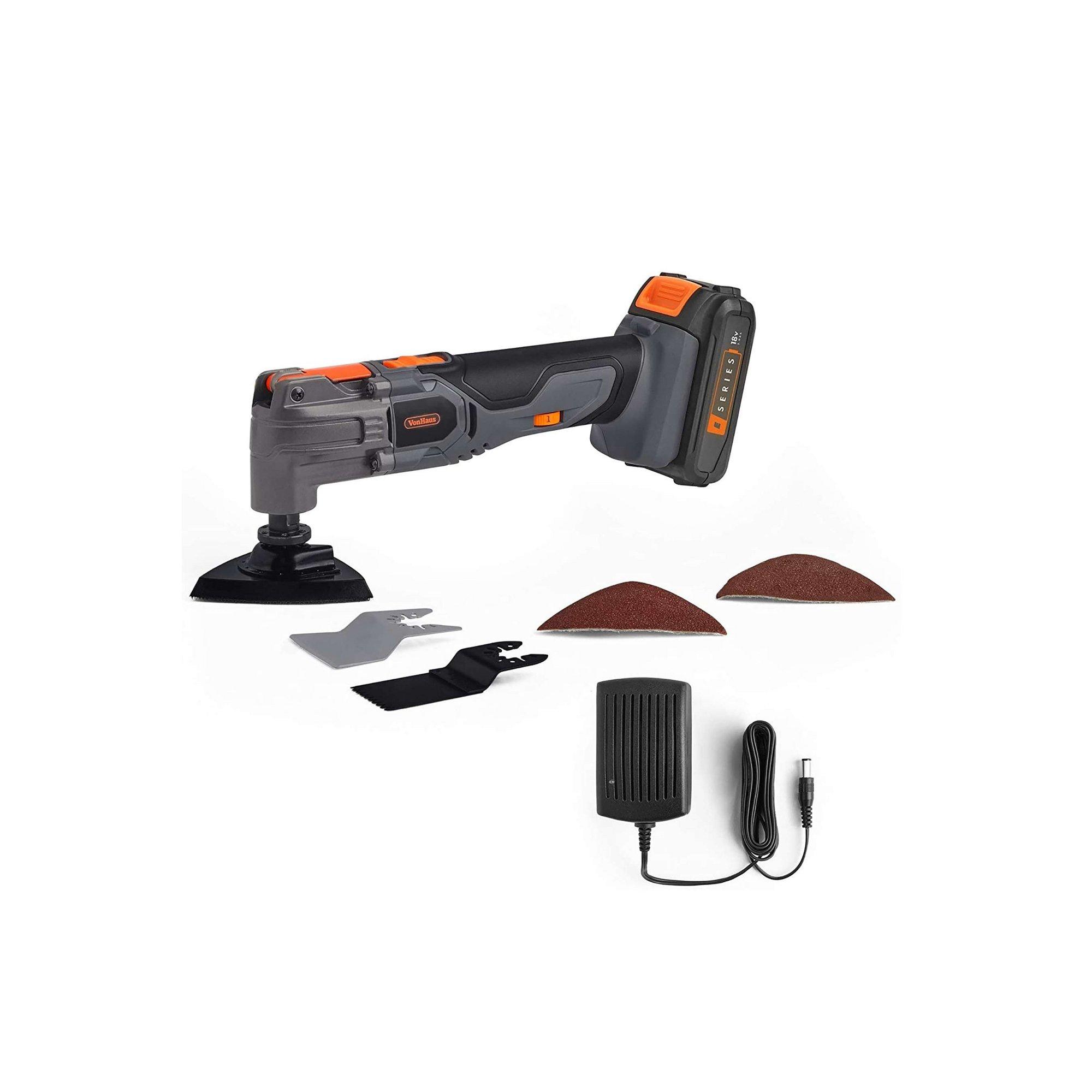 Image of VonHaus E-Series 18V Cordless Oscillating Multi Tool