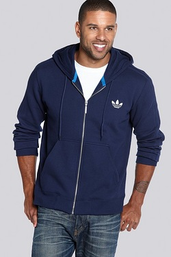 adidas Originals Zip Through Fleece Hoody