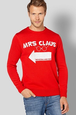 Twisted Gorilla Mrs Claus Christmas Jumper