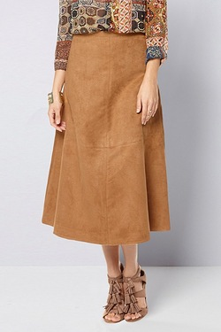 Be You Faux Suedette Skirt