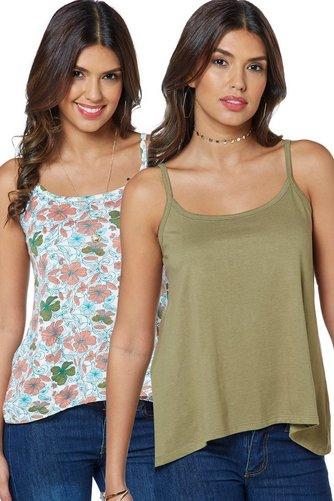 Image for Be You Pack Of 2 Cami Vests from studio