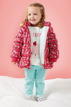 Baby Girls 3-Piece Coat Set