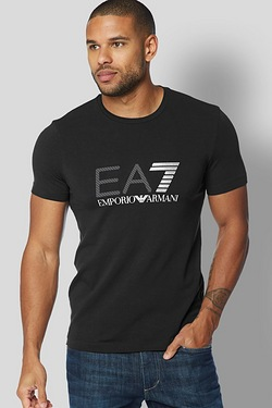 EA7 Brand Carrier Printed T-Shirt