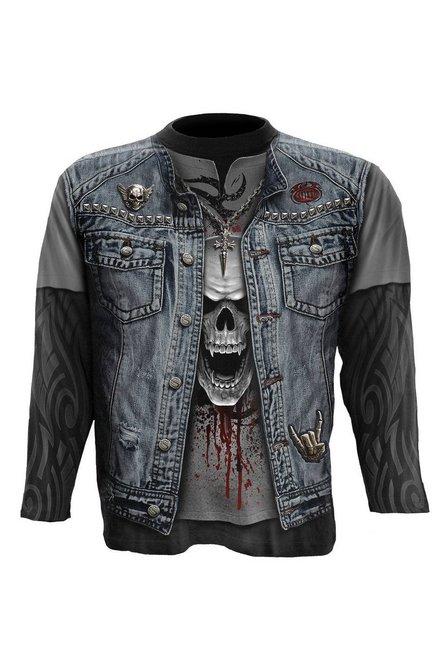4ea8c83ab04 Image for Men s Thrash Metal Allover Long Sleeve T-Shirt from studio