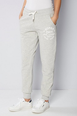 Superdry Athlete League Loopback Jogger - Grey Marl