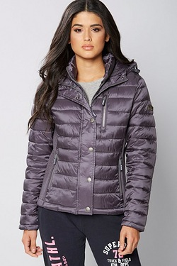 Superdry Luxe Fiji Zip Hood Jacket