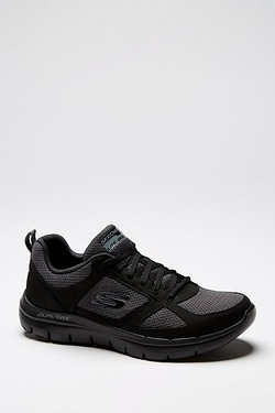 Skechers Flex Advantage 2.0 Trainer - Black