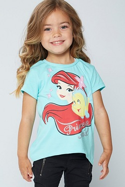 Girls Disney Little Mermaid T-Shirt