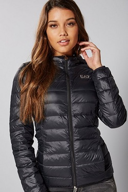 EA7 Hooded Padded Jacket