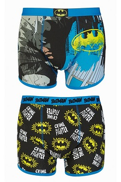 Batman Crime Fighter Pack Of 2 Boxers