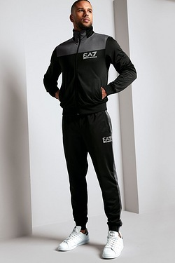 EA7 Colour Block Tracksuit