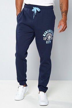 Mens Football Fleece Jogger - Manchester City
