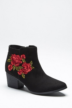 Be You Embroidered Boot