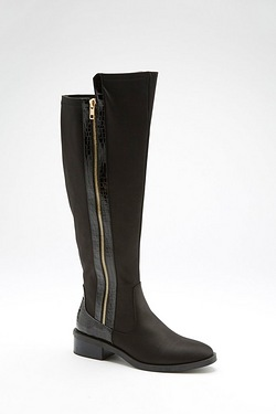 Be You Tall Croc Side Zip Boot