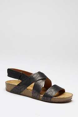 Be You Cross Over Footbed Sandal