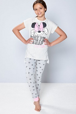 Girls Minnie Nap Pyjamas
