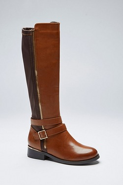 Be You Zip and Buckle Boot
