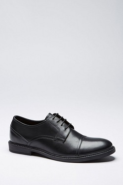 Thomas Gee Leather Lace Toe Cap Shoe